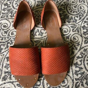 Women's Madewell Lava Rock The Thea Slip On Size 6